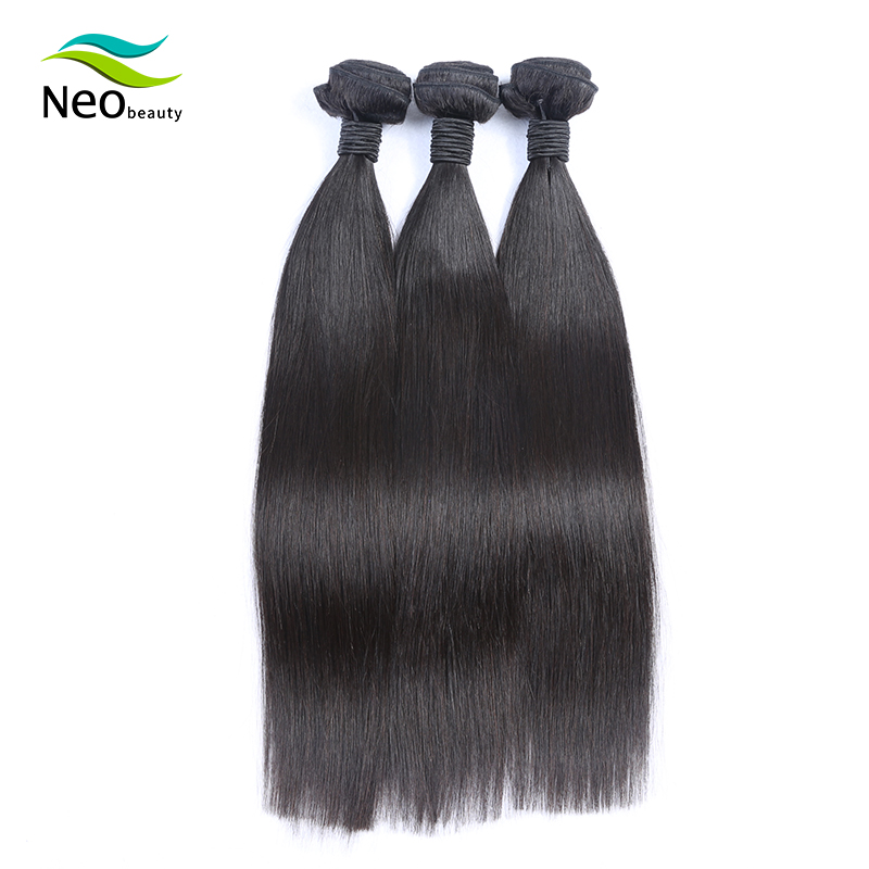 10A 8-40 Inch Brazilian Hair Weave Bundles Straight 100% Human Hair 1/3/4 Bundles Natural Color Virgin Human Hair Extensions