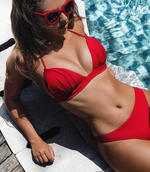 Swimsuit Bikini Bikinis 2020 Mujer Push Up Womens Swimming Suit Swimwear Women Bathing Swim Two Pieces