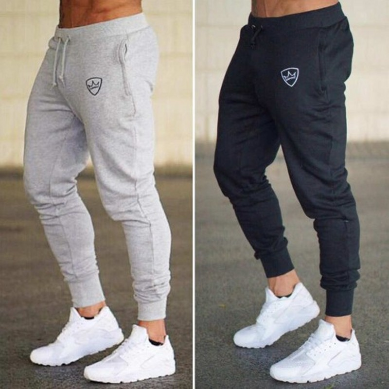 Summer New Fashion Thin Section Pants Men Casual Trouser Jogger Bodybuilding Fitness Sweat Time Limited Mens Gyms Sweatpants