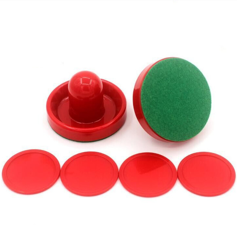Red Hockey Equipment Tables Table Game Puck Puck 60mm 51mm 60mm For Mallet Goalkeepers Air Hockey Table Accessories