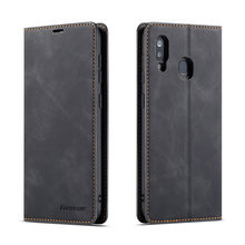 Luxury Wallet Case For Samsung A01 A7 A8 A20 A30 A40 A80 A50 A51 A60 A70 A71 Leather Flip Wallet Magnetic Cover