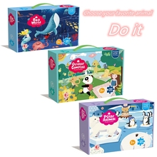 Children's Puzzle Flat Puzzle 100 Pieces Educational Puzzle Toy 6-Year-Old 12-Year-Old Puzzle Cross-Border Hot-Selling Puzzle