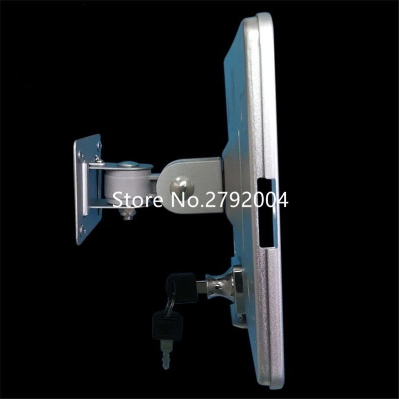 "lock for 9.7""new ipad 2018 stand adjustable 360 degree rotating tablet wall holder for Ipad 2/3/4/Air"