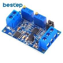 Current To Voltage Module 0 / 4-20mA To 0-3.3V/5V/10V Voltage Transmitter Signal Converter signal isolation transmitter current voltage transmitter multiple input multiple output 4 20ma 0 5v 0 10v