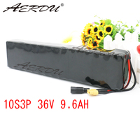 AERDU 36V 9.6Ah 10Ah 600watt 10S3P For LG MH1 lithium ion battery pack 20A BMS For xiaomi mijia m365 pro ebike bicycle scooter