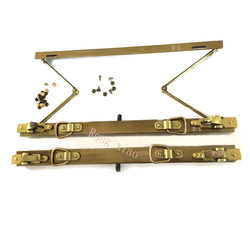 12/14/16/18 pulgadas marco de metal Vintage Anti bronce médicos bolsa marco monedero marco