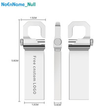 usb flash drive 16GB metal pen 32gb 3.0 memory 128gb 8gb pendrive 64gb U disk waterproof gift Free custom LOGO
