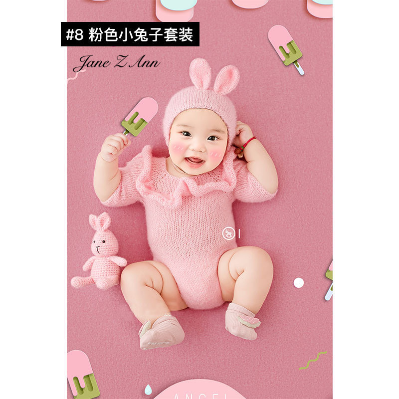 Jane Z Ann Baptism Clothes for Babies  Baby Photo Shoot Clothing Filming Props  Children 100 days/3-4 month  Theme costume 5