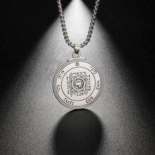 Eueavan 10Pcs Zinklegering Key Van Solomon Hanger Ketting De Ultieme Symbool Van Liefde Sieraden Cadeau Voor Mannen Vrouwen