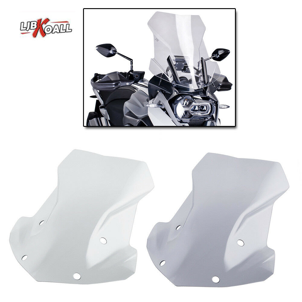 Double Bubble Windshield Windscreen Screen For BMW R1200GS LC 2013-2018 ADV  2014-2018 Motorcycle Accessories