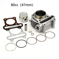 Aluminum Alloy Engine Part Practical Universal Cylinder Kit Crankshaft Big Bore Scooter Accessories Professional Durable For GY6