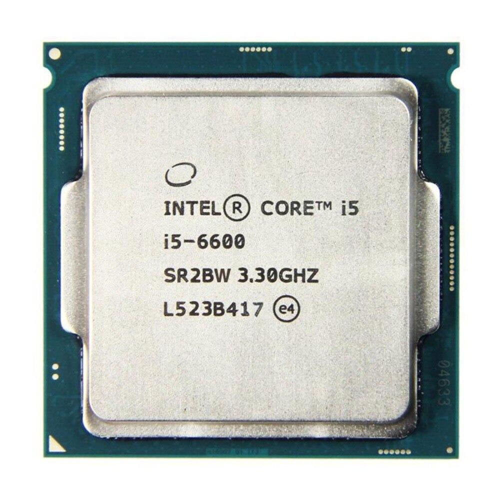 Процессор Intel Core i5 6600 3,3 ГГц 6 Мб кэш-памяти четырехъядерный процессор для настольного компьютера LGA1151 ЦП