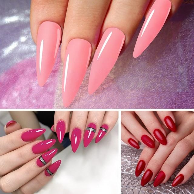 Phoenixy Poly UV Gel For Manicure 15ML Nail UV Gel For Extension Color Nail Gel For Nails Art Painting Gel Nail Art Enamel 6
