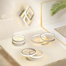Araña de techo LED moderna para sala de estar, pasillo, balcón, dormitorio, pasillo, iluminación interior, accesorio de araña LED