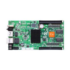 Image 1 - Huidu HD C35 HD C35 غير متزامن rgb شاشة عرض فيديو ليد بطاقة Huidu HD C35 كبير كامل اللون led بطاقة التحكم في العرض HD R501