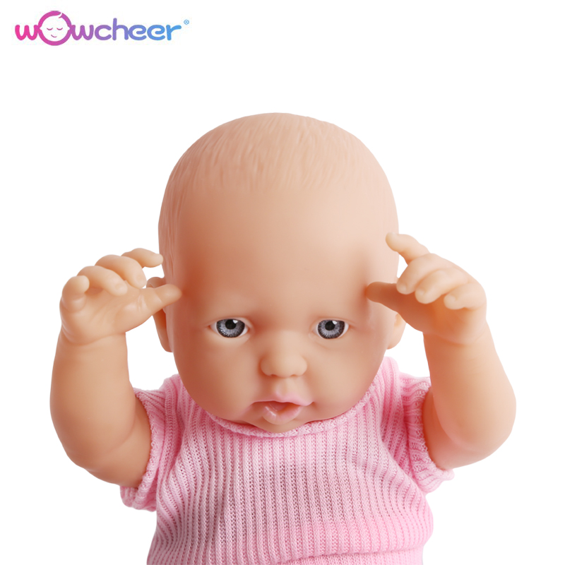Image 4 - WOWCHEER Bebes, силиконовая мини Кукла Reborn Babies 23 42 см, ручная работа, новые реалистичные мягкие куклы для малышей, игрушки для девочек, детские рождественские подаркиКуклы   -