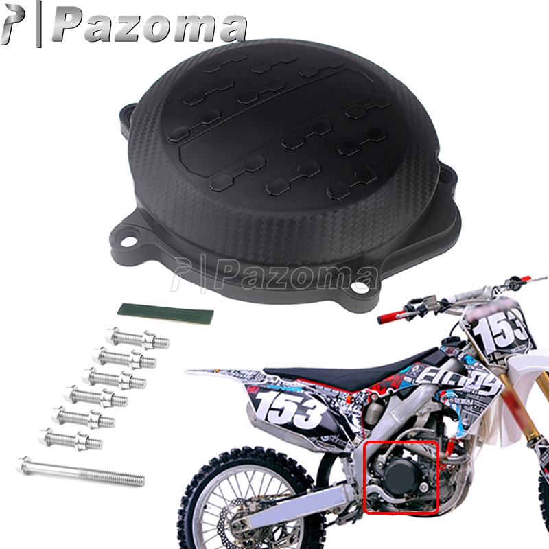 New Motorcycle Engine Right Side Clutch Cover Guard Protector For Honda CRF250 <font><b>CRF</b></font> 250R 2010 2011 <font><b>2012</b></font> 2013 2014 2015 2016 2017 image