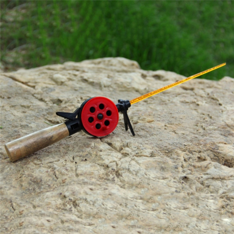 Portable Winter Ice Fishing Rods With Reel Shrimp Ice Fishing Pole Fish Rod Pesca Pole Fishing Accessories