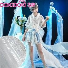 Dokidoki-sr – Costume de majordome noir de dessin animé, Cosplay, Ciel fantôme, ruche, Prince de glace, majordome noir
