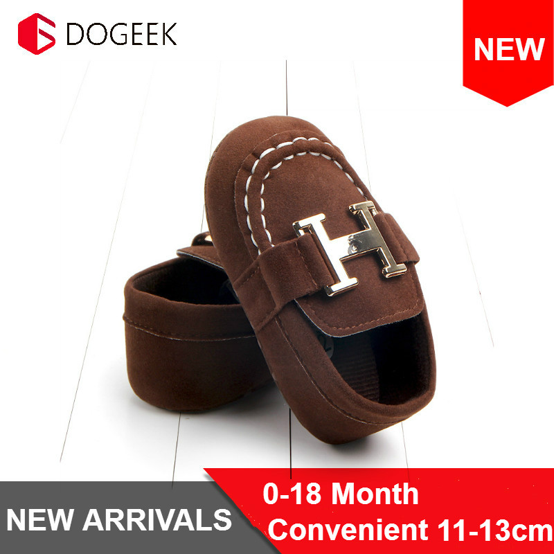 DOGEEK Soft Baby Toddler Shoes First Walkers Socks Boy Girl Autumn Winter Comfortable Fashion Solid Color Baby Shoes Crib