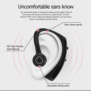 Image 5 - ALLOET tek Stereo kablosuz kulaklık V9 Handsfree iş Bluetooth kulaklıklar akıllı telefonlar ve tabletler için spor kulaklık