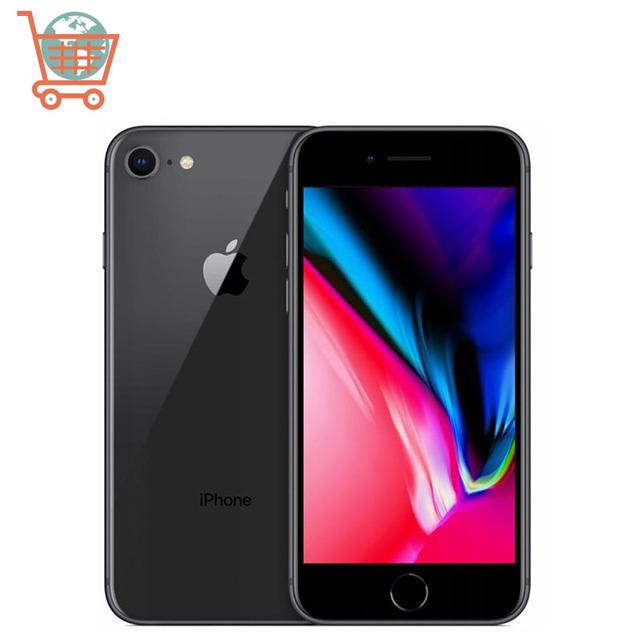 Original Apple iPhone 8 64GB/256GB Hexa-core IOS 3D Touch ID 4G LTE Phone 12.0MP 4.7 inch Fingerprint IOS Apple Mobile phone