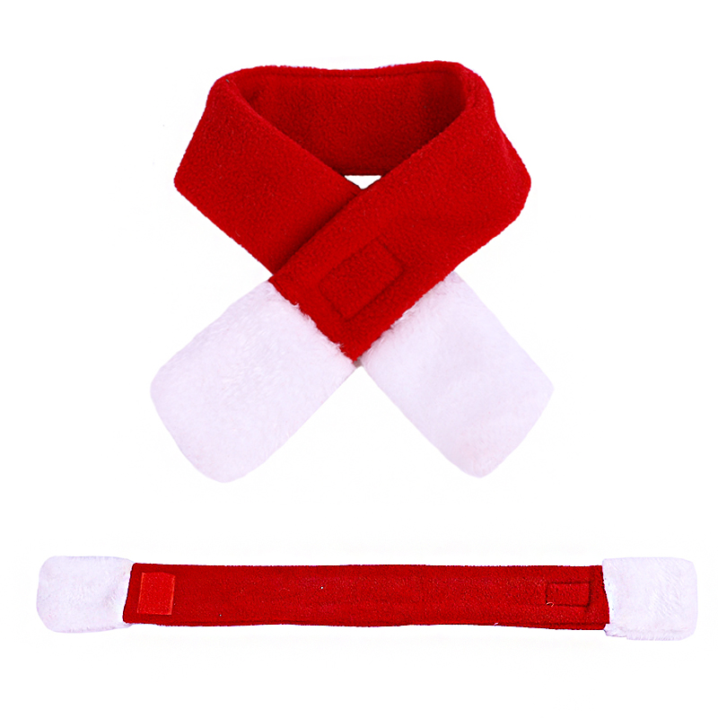 Pet Dog Cat Clothes Christmas Costume Cat Hat Scarf Cloak Dress Up For Kitten Puppy Small Dog Xmas New Year Costume Accessories 16