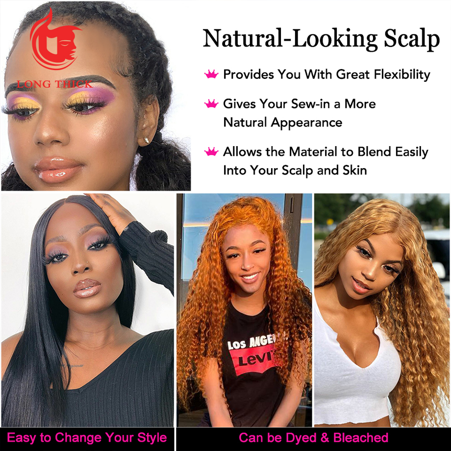 Loose Deep Wave Frontal Wig Bob Wig Lace Front  Wigs  30 Inch  Water Wave Lace Front Wig 5