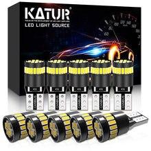 10 قطعة T10 W5W LED Canbus لمبات 168 194 led أضواء مواقف السيارات ل جيوليتا بيجو 307 مقعد ليون 2 MK3 ألفا روميو 159 147 156