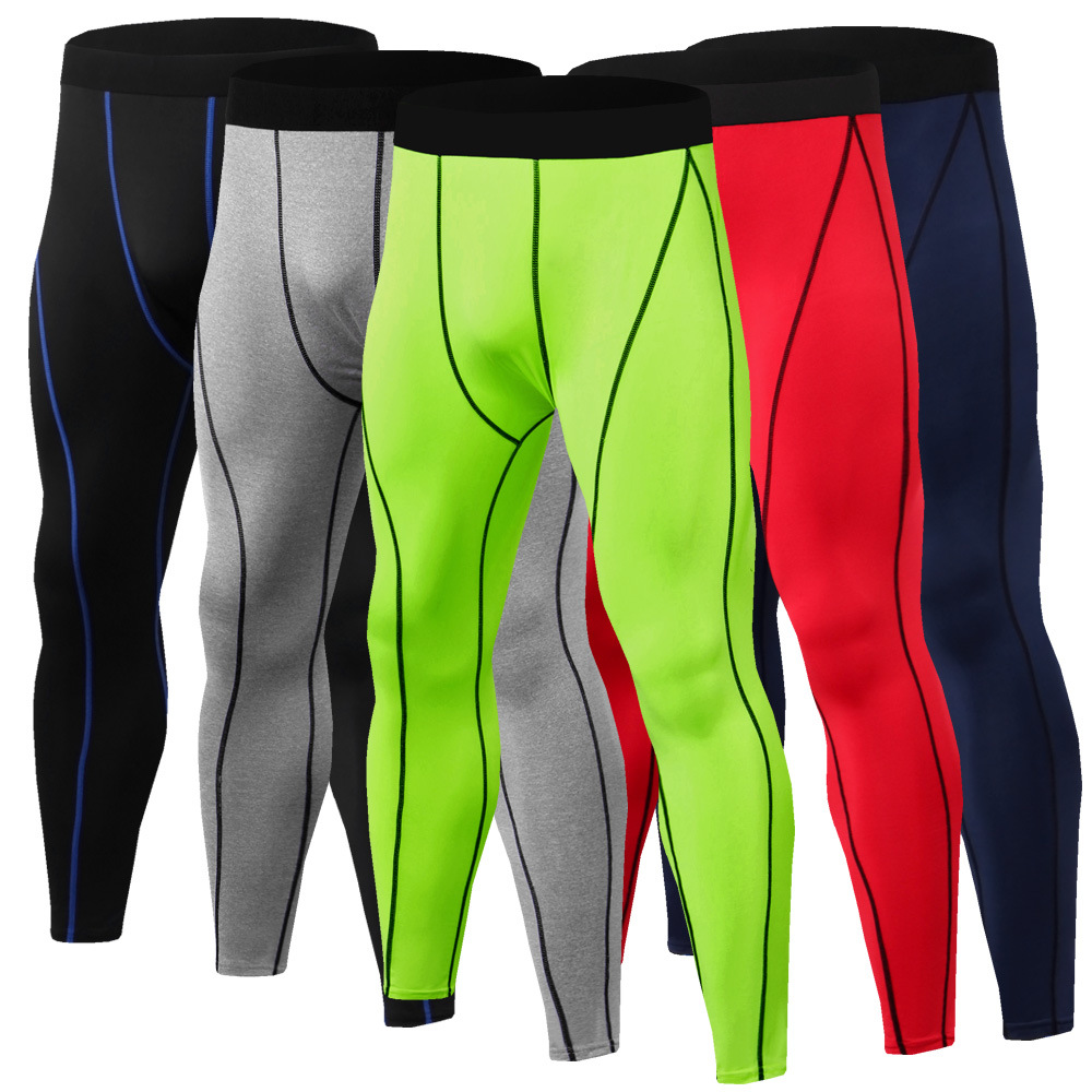 2019 Spring And Summer Sports Pants Men Outdoor Quick-drying Basketball Underpants Sports Outdoor Fitness Trousers Tights