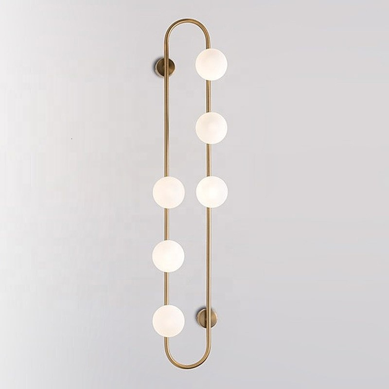 new design ring wall lamps nordic home decoration simplicity bed side wall lamp led decorated hotel wall lamp lampara de pared