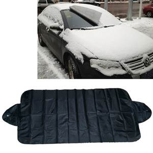 150x70 Universal Car Front Windshield Cover Auto Sunshade Snow Ice Protection Cover Winter