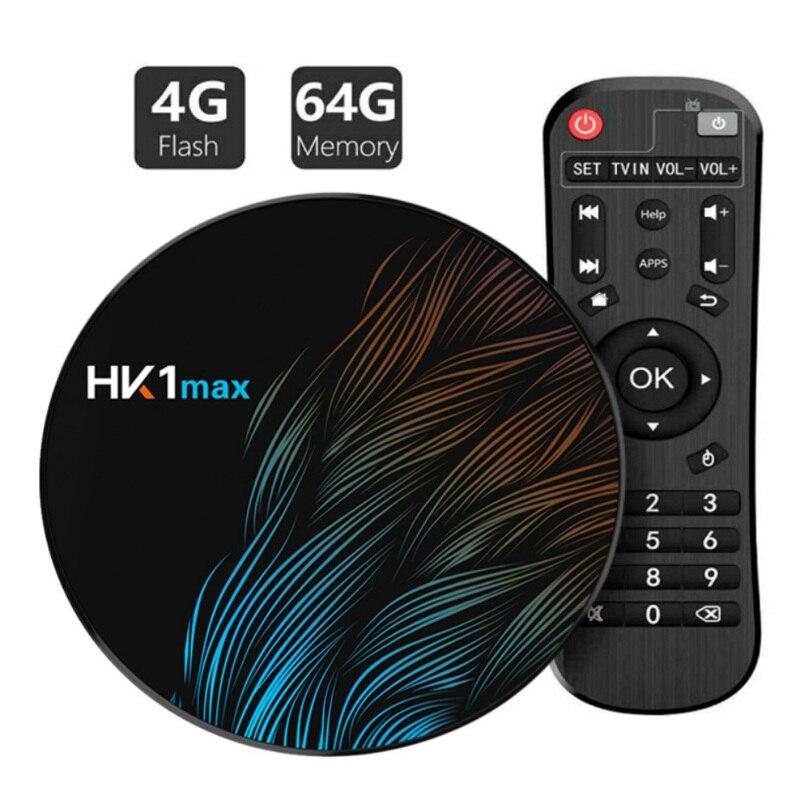 HK1 Max Smart TV Box Android 9.0 GB 128GB GB 32 64 4GB Rockchip 4K Wi-Fi netflix set top Box Media Player BOX 2GB16GB Android