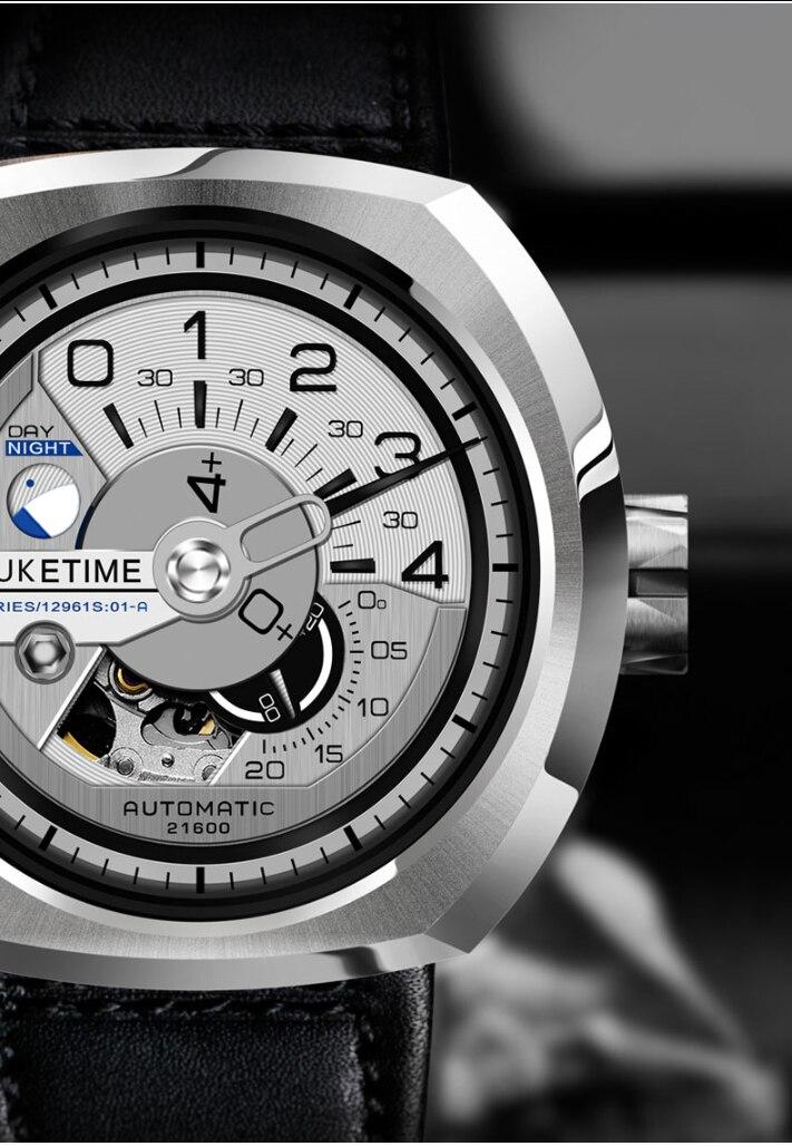 pulseira couro esporte relógios relogio masculino
