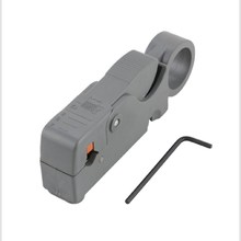 купить Rotary Double Coaxial Cable Stripper Rg58/59/62/6 Coaxial Cable Stripper Stripper Tool дешево