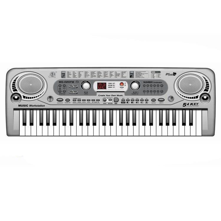 Enfants 54 touches musique électronique Piano multi-fonctionnel clavier électronique Instrument de musique pour enfants éducatif début Chi