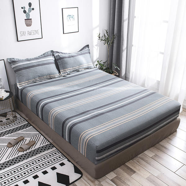 Quality Bedclothes Bed Set Fitted Sheet Bed Sheet 120*200/150*200/180*200cm King Full Twin Queen Size Sheet Pillowcases