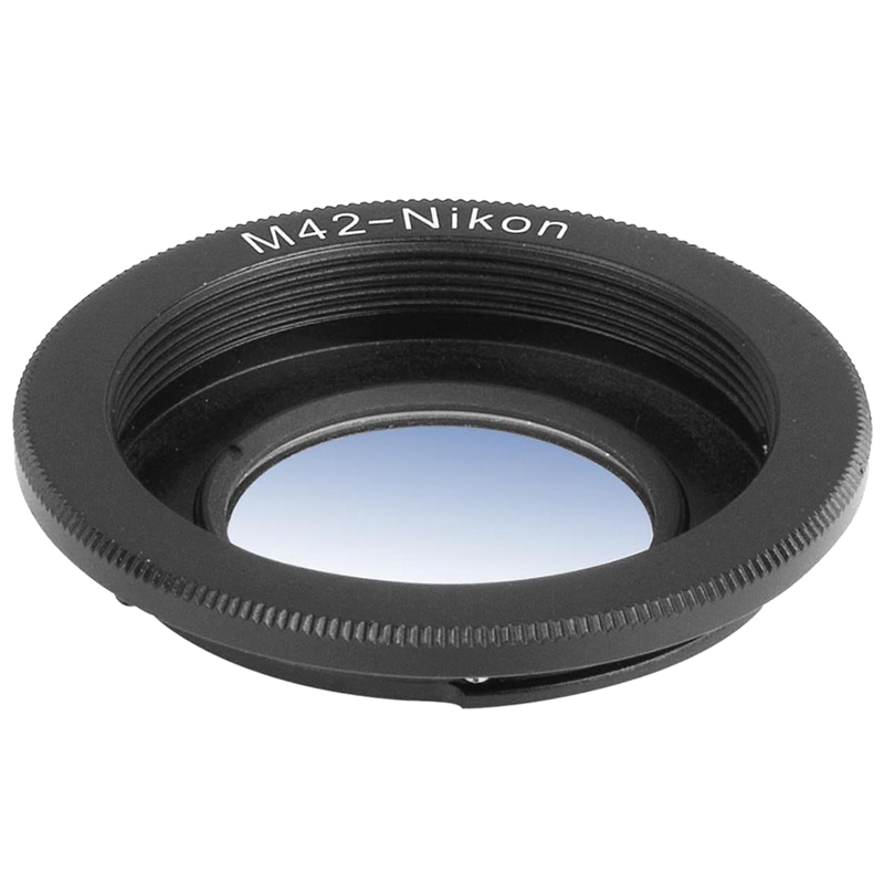 M42 42mm Lens Mount Adapter To Nikon D3100 D3000 D5000 Infinity Focus DC305