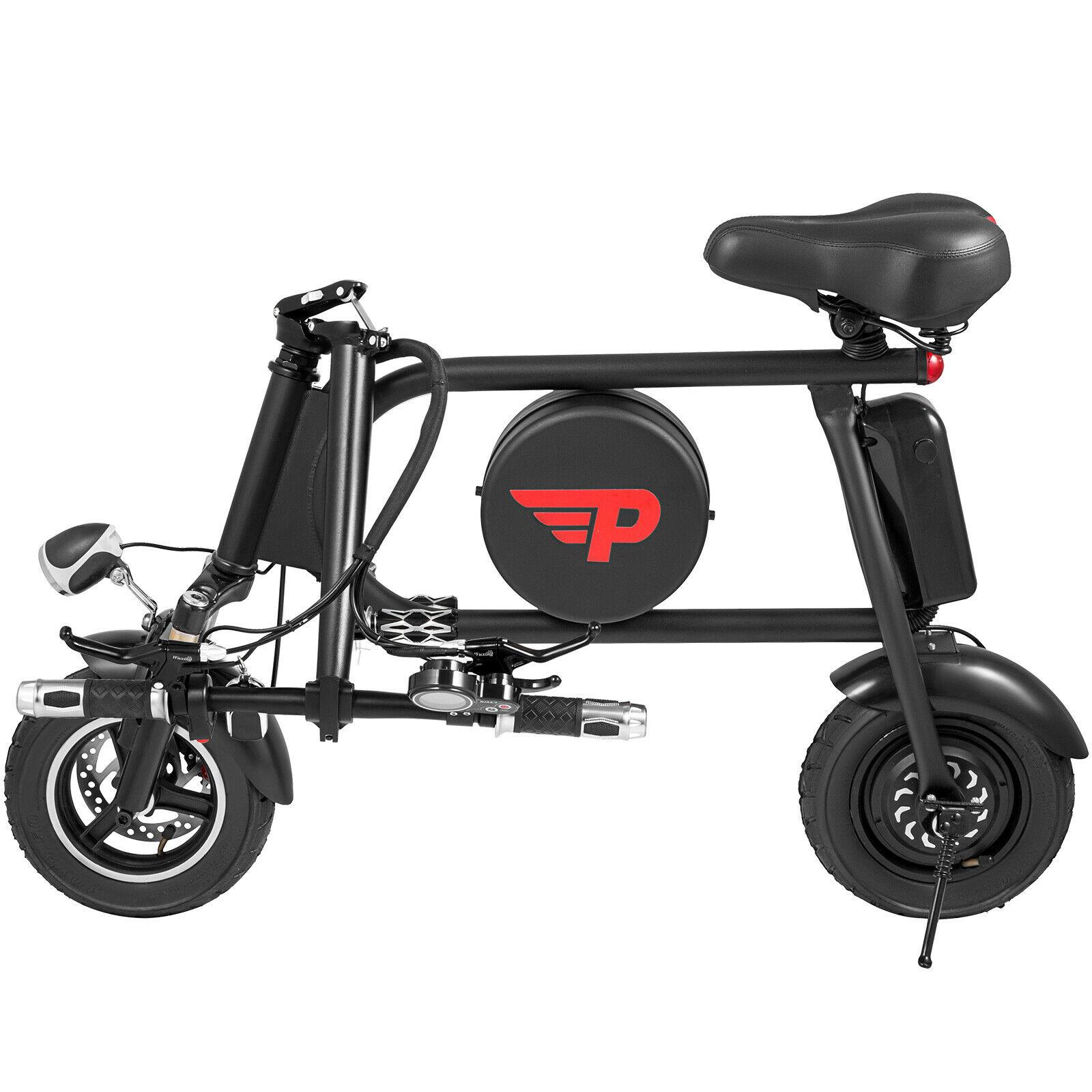 Складной электрический велосипед 35 км/ч E-bike 16AH пульт дистанционного управления и Противоугонная 400 Вт