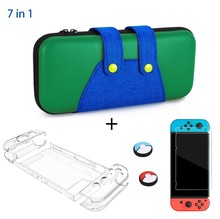 Carrying Case Compatible with Nintendo Switch Protective Hard Shell Portable Travel Carry Case Bag for Nintendo
