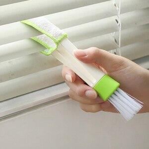 Image 5 - Voiture accessoires multi usages voiture brosse voiture climatiseur sortie fenêtre PC clavier bureau cuisine poussière nettoyage outil TSLM2