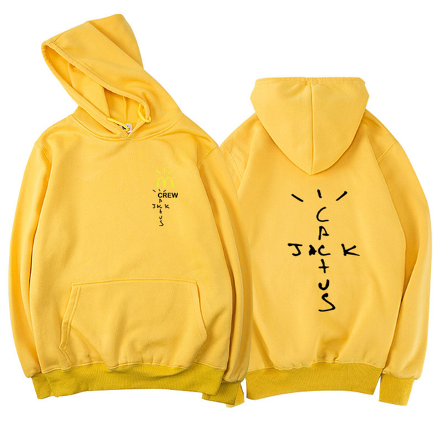 CREW CACTUS JACK TRAVIS SCOTT THEMED HOODIE