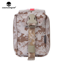 emersongear Emerson First Aid Kit Pouch Medic Pouch Molle Nylon EDC Survival Bag Outdoor Sports Military Airsoft Modular Pouch цены