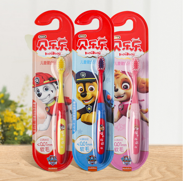 2020 New Hot Genuine PAW Patrol Toddler Kids Toothbrush chase marshall skye Anti Slip Portable Tooth Brush children toy gift image