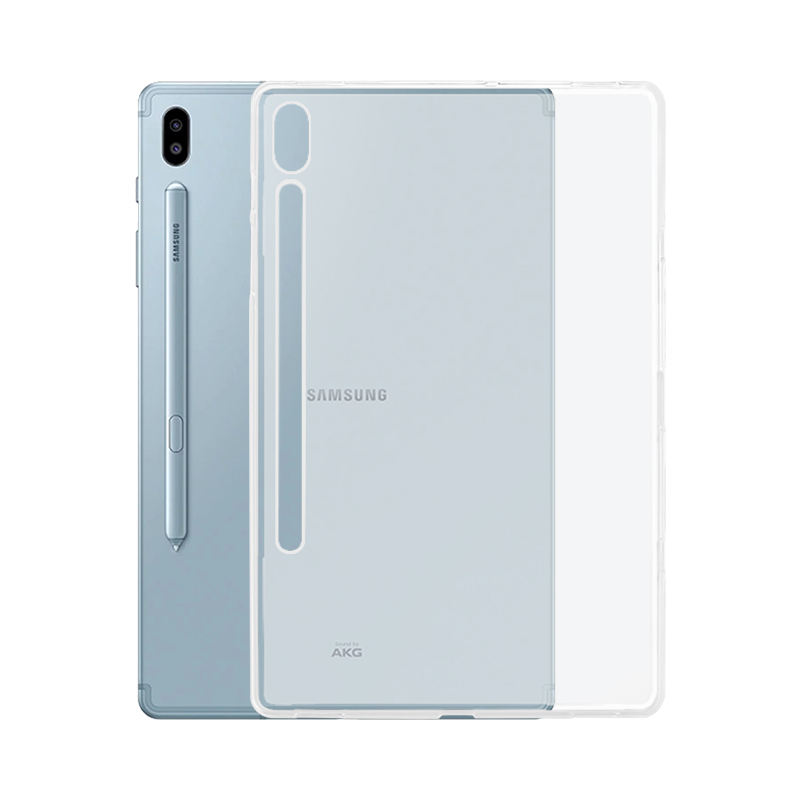 Case for Samsung Galaxy Tab S6 10.5 2019 10.5 Case SM-T860 SM-T865 Tablet Transparent TPU Cover for Galaxy Tab S6 10.5 Case image