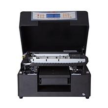 A4 Flatbed UV inkjet printer for Glass/wood/phone case