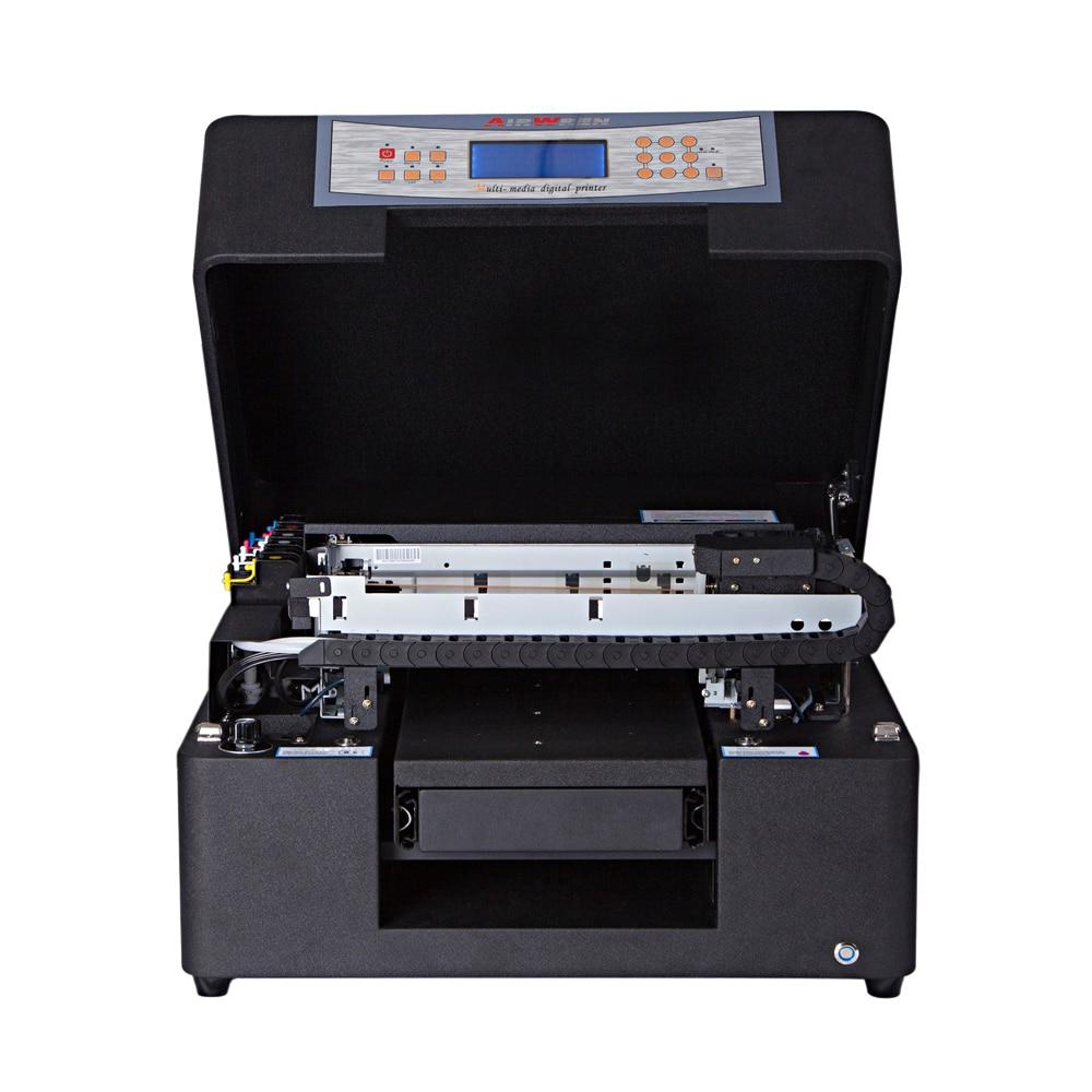 Multifunctional A4 Size Small Diy Uv Led Inkjet Printer Price Uv Flatbed Printer Machine For Business Card Printing