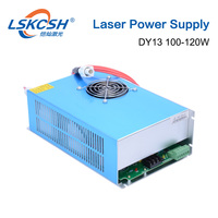 LSKCSH HY DY13 100W Co2 Laser Power Supply For Reci V4 Z4 W4 S4 Tube 220V For Laser Engraving Cutting Machine 1 Year Warranty