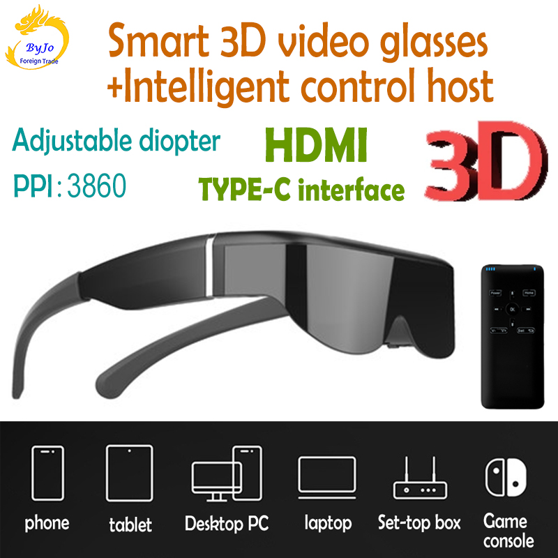 Sonderverkauf 20 Off E633 Smart 3d Video Brille Stereo Head Mounted Display Drone Handy Computer Nicht Panorama Vr Gaming Glaser Hdmi Type C