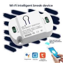 Interrupteur intelligent Wifi 10A, minuterie à distance, contrôleur de lumière LED, Module d'automatisation Google Home Alexa Smartlife